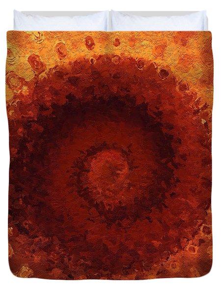Sundial Duvet Cover