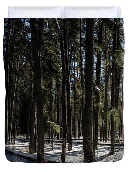 Sundial Forest Duvet Cover