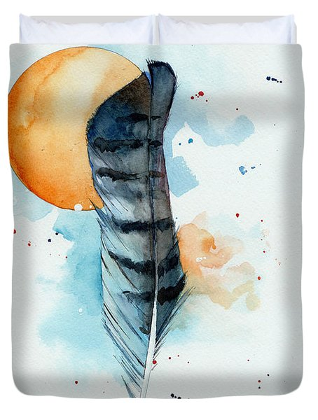 Sunfeather Duvet Cover