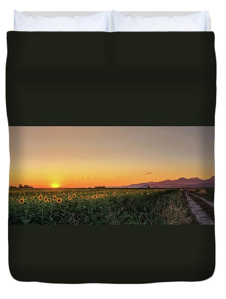 Sunfield Road Duvet Cover