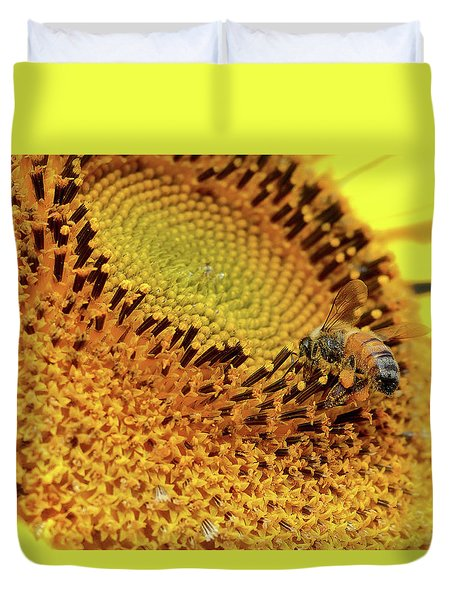 Sunflower 001 Duvet Cover