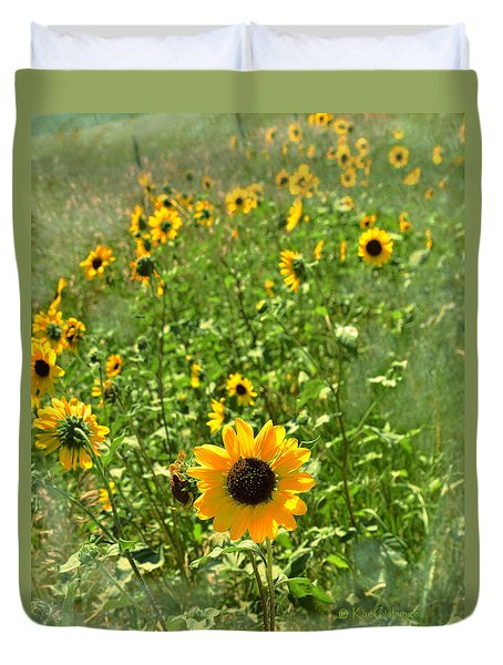 Sunflower 183 Duvet Cover