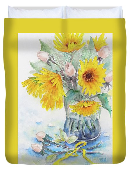 Sunflower-4 Duvet Cover