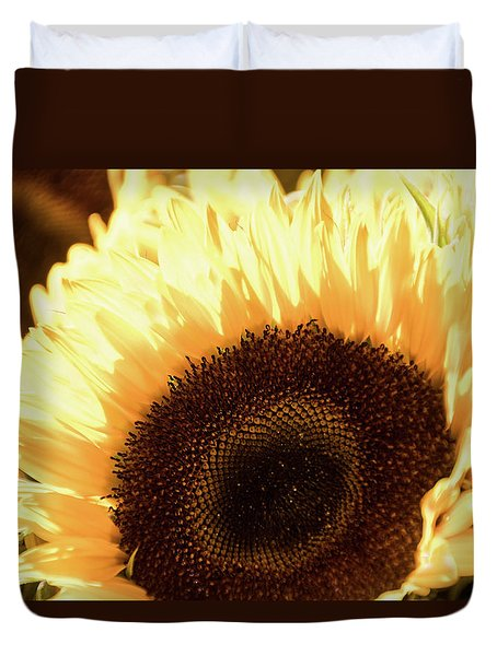 Sunflower Aglow -  Duvet Cover