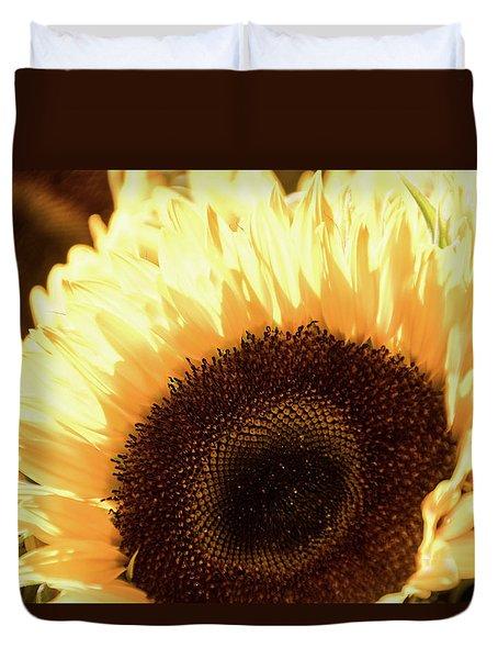 Sunflower Aglow -  Duvet Cover