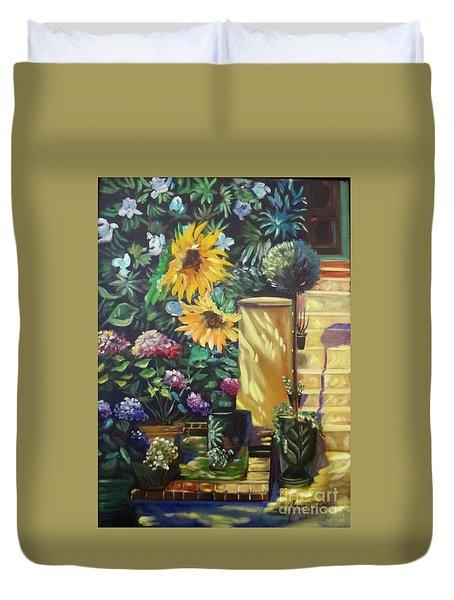 Sunflower Aloha Duvet Cover