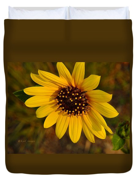 Sunflower Bloom Duvet Cover