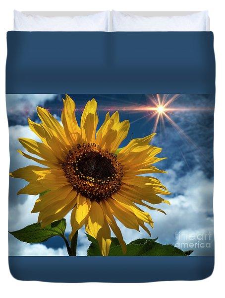 Sunflower Brilliance II Duvet Cover