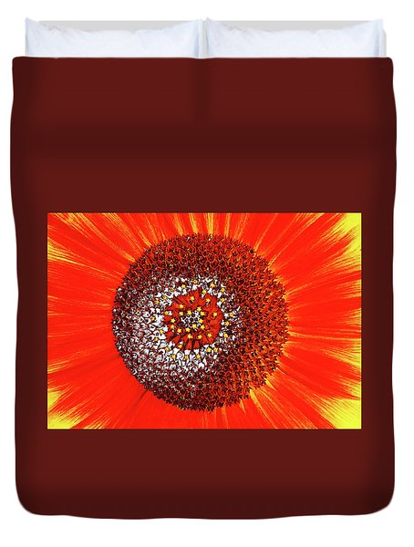 Sunflower Close Duvet Cover