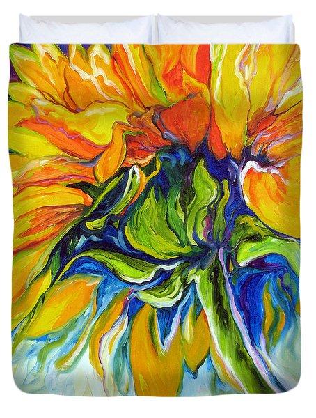 Sunflower Day Duvet Cover