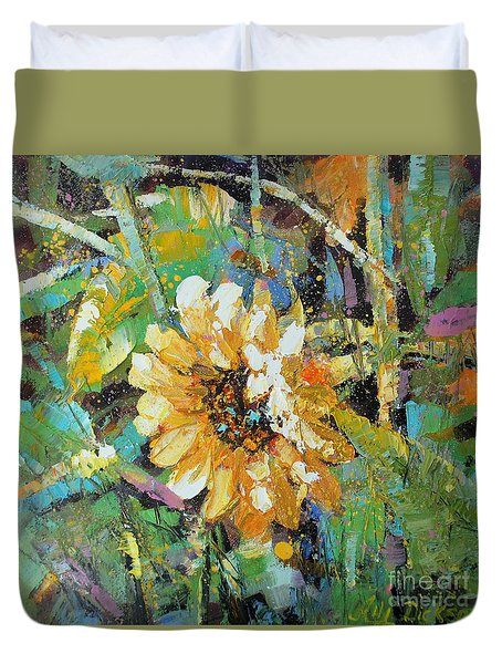 Sunflower I Duvet Cover