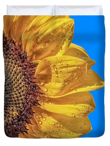Sunflower In The Sun Duvet Cover