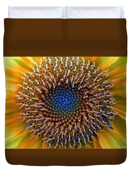 Sunflower Jewels Duvet Cover