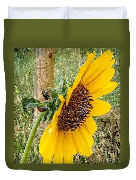Sunflower Joy Duvet Cover