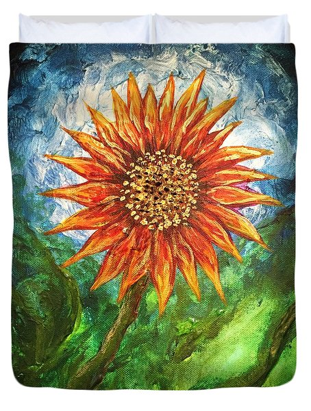 Sunflower Joy Duvet Cover