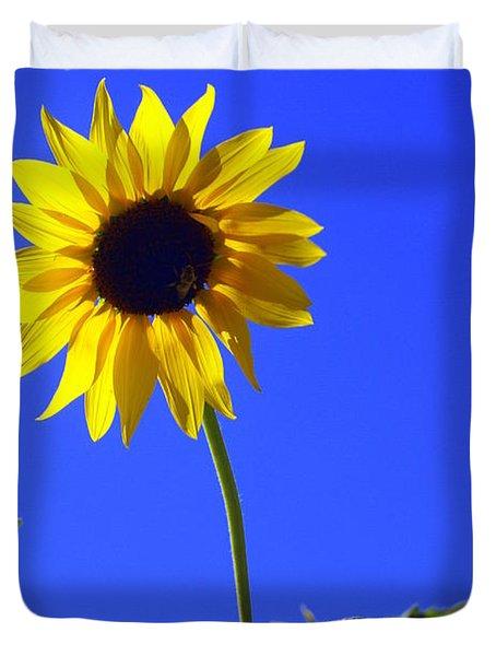 Sunflower Duvet Cover by Marty Koch