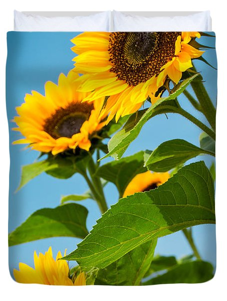 Sunflower Morning Duvet Cover