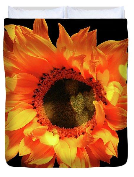 Sunflower Passion Duvet Cover