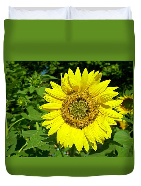 Sunflower Power Duvet Cover