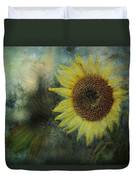 Sunflower Sea Duvet Cover