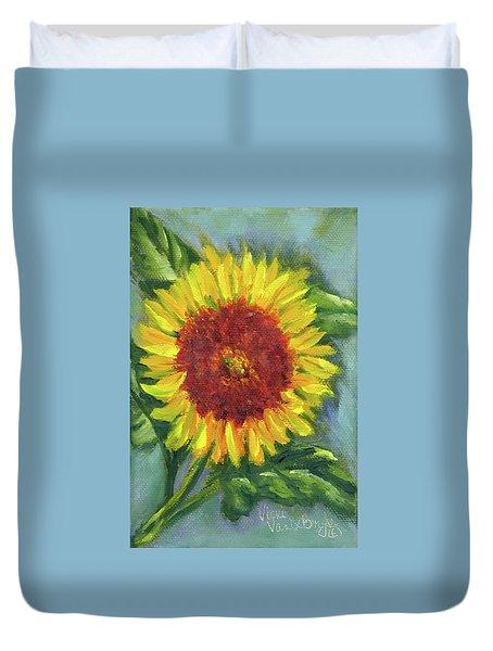 Sunflower Seed Packet Duvet Cover