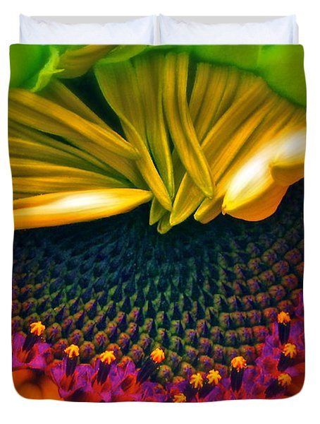 Sunflower Smoothie Duvet Cover