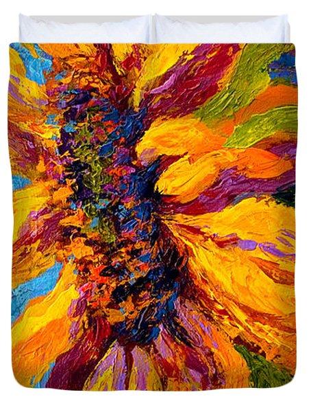 Sunflower Solo II Duvet Cover