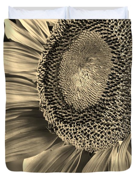 Sunflower Study 1 Duvet Cover