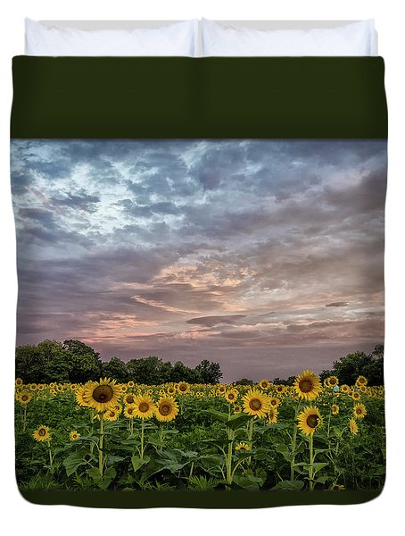Sunflower Sunrise Duvet Cover