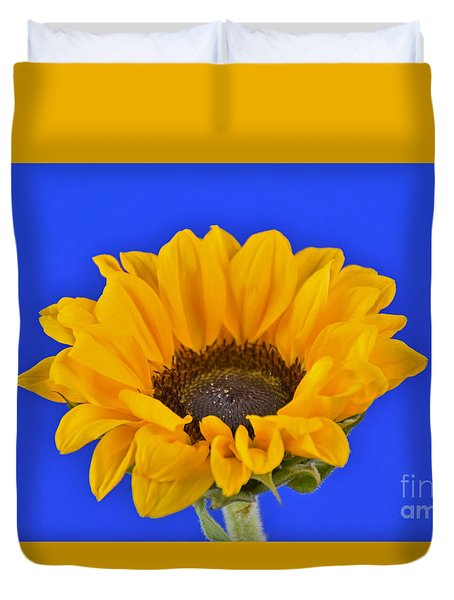 Sunflower Sunshine 406-6 Duvet Cover by Ray Shrewsberry