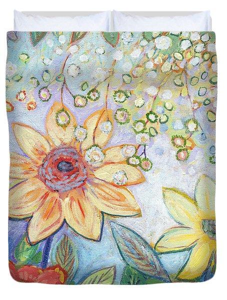 Sunflower Tropics Part 2 Duvet Cover