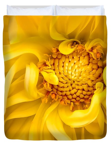 Sunflower Yellow Duvet Cover