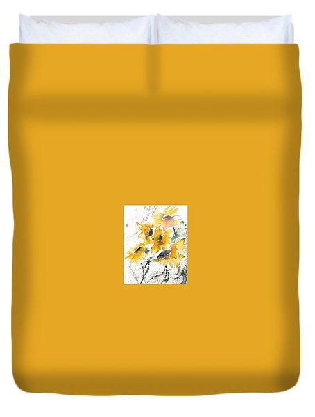 Sunflowers 10 Duvet Cover