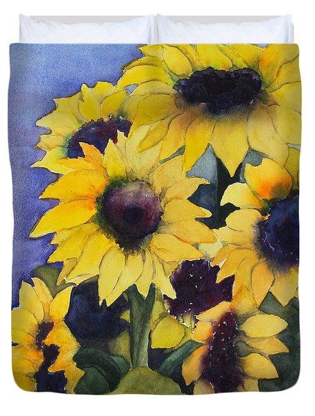 Sunflowers 17 Duvet Cover
