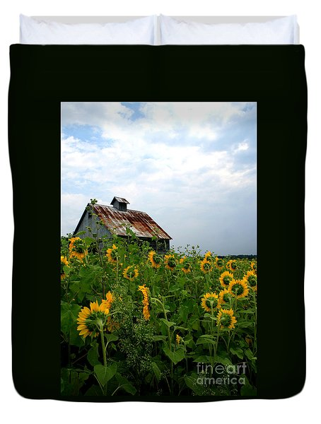 Sunflowers Rt 6 Duvet Cover