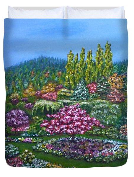 Sunken Garden Duvet Cover