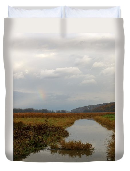 Sunless Rainbow Duvet Cover
