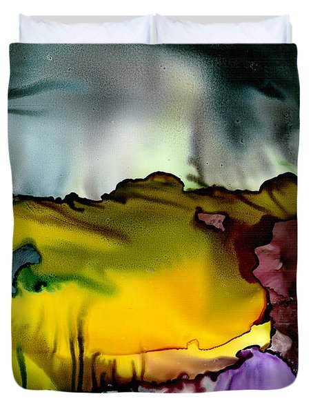 Sunless Sea Duvet Cover by Susan Kubes
