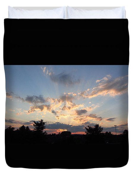 Sunlight Inspiration Duvet Cover