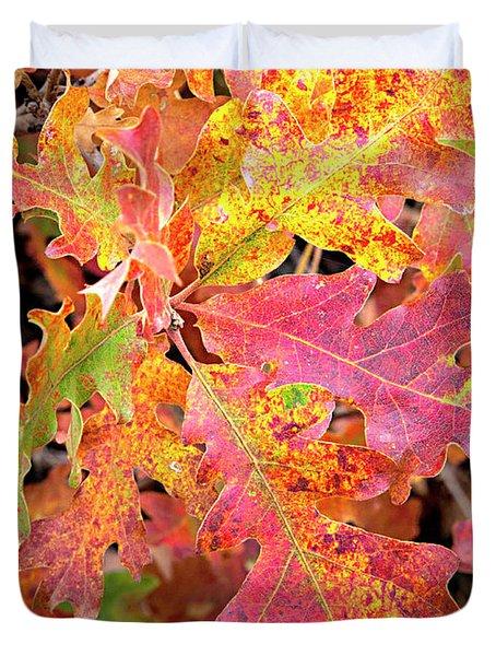 Sunlight Leaves Duvet Cover