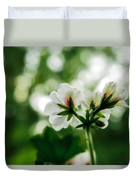 Sunlight Rain Duvet Cover