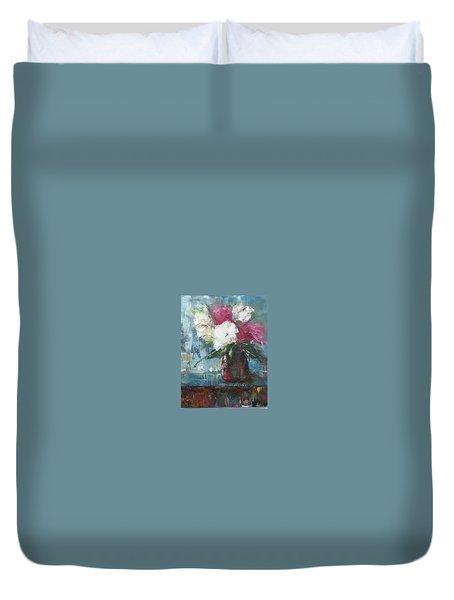 Sunlit Bouquet Duvet Cover
