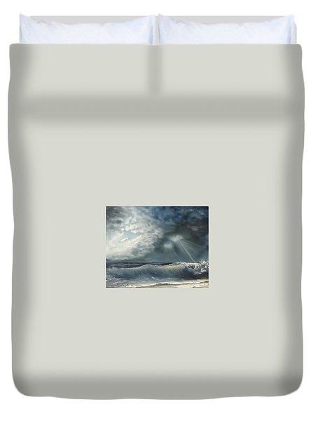 Sunlit Sea Duvet Cover