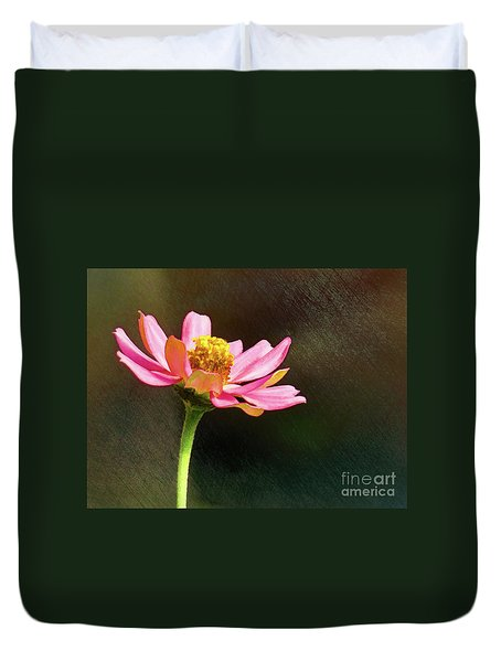 Sunlit Uplifting Beauty Duvet Cover by Sue Melvin
