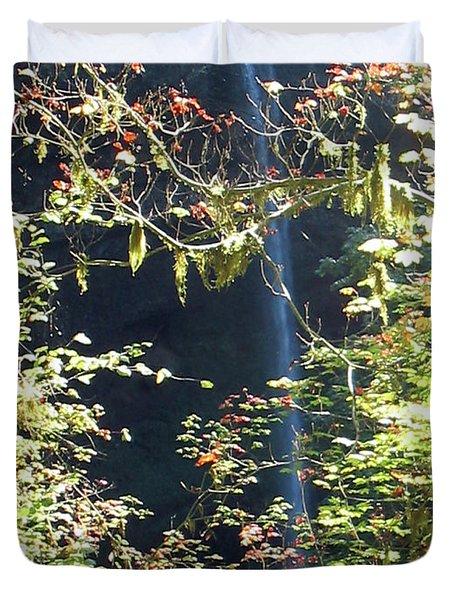 Sunlite Silver Falls Duvet Cover