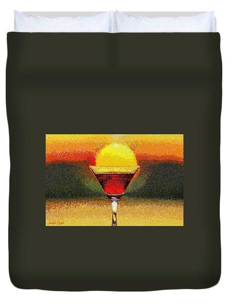 Sunned Wine - Pa Duvet Cover