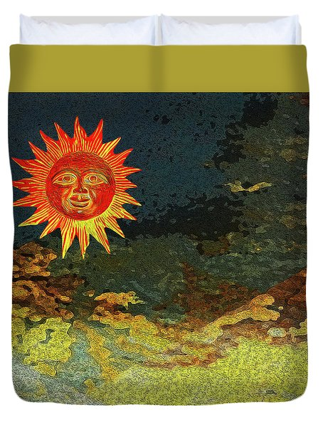 Sunny 1 Duvet Cover by Bruce Iorio