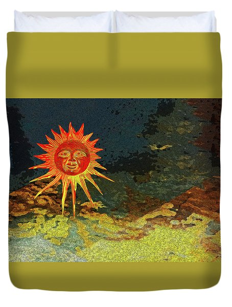 Sunny 3 Duvet Cover by Bruce Iorio