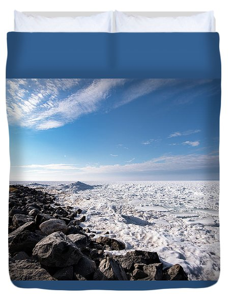 Duvet Cover featuring the photograph Sunny Afternoon by Onyonet  Photo Studios