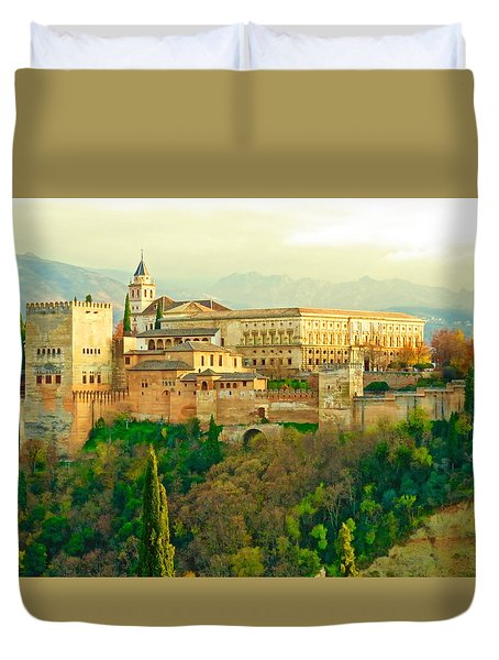 Sunny Alhambra Duvet Cover